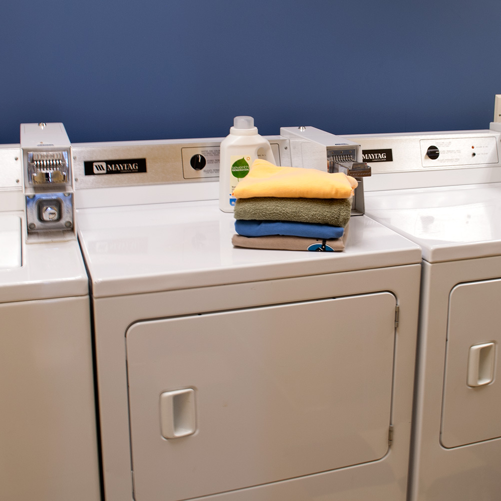 Large capacity washers and dryers