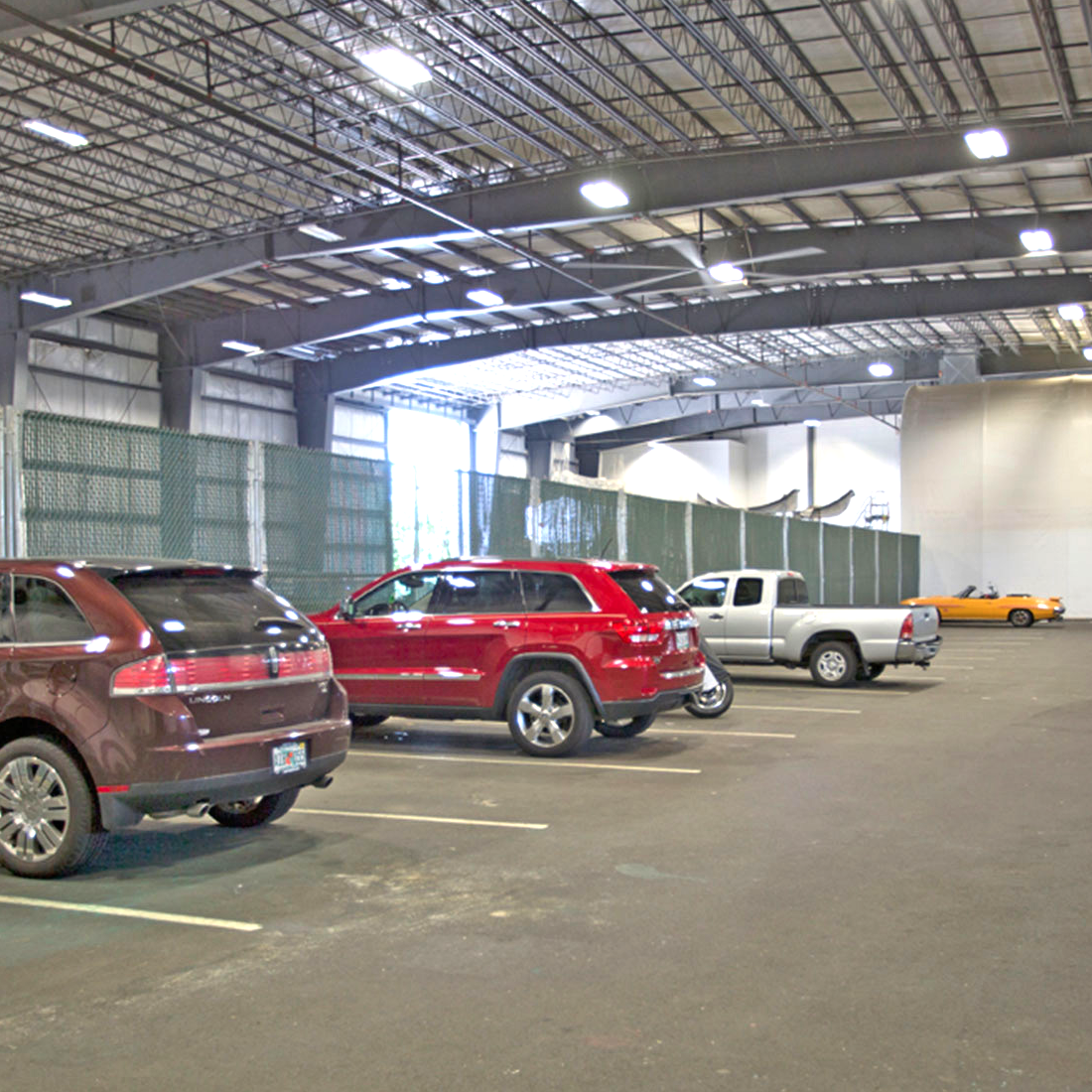 Secure indoor parking for your car