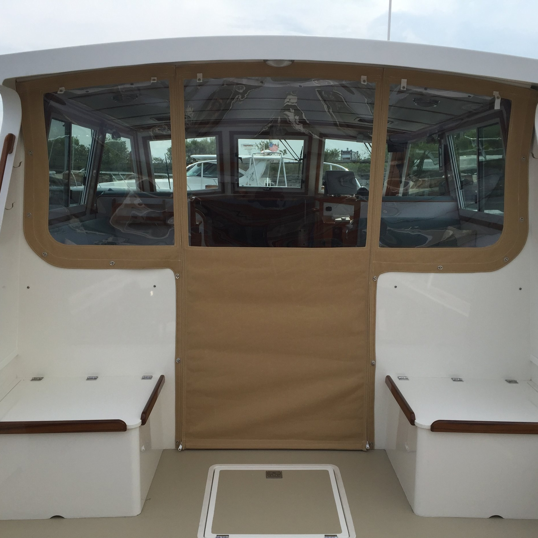 Wilbur 34 Cockpit