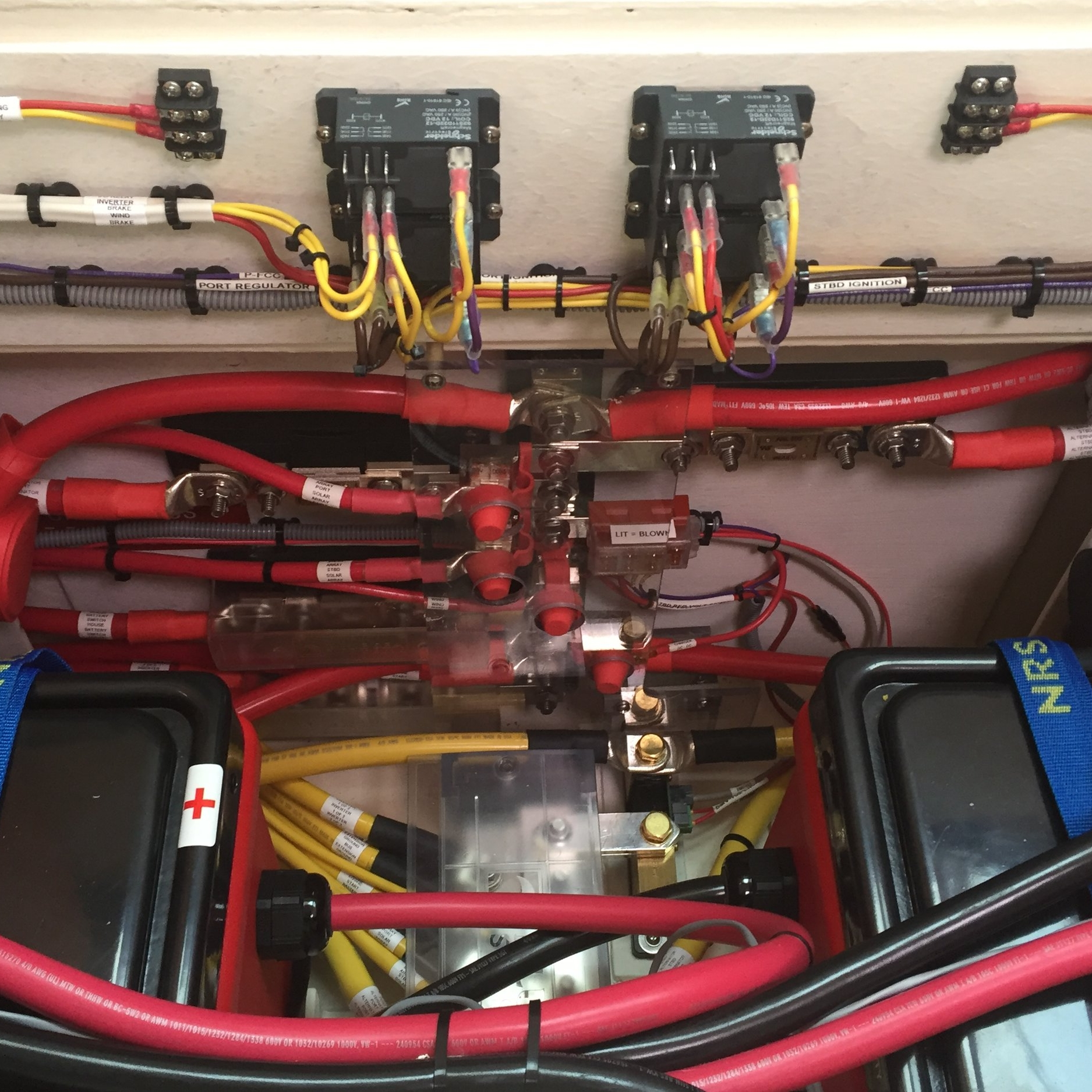 50' Cruising Cat Battery/Charging System