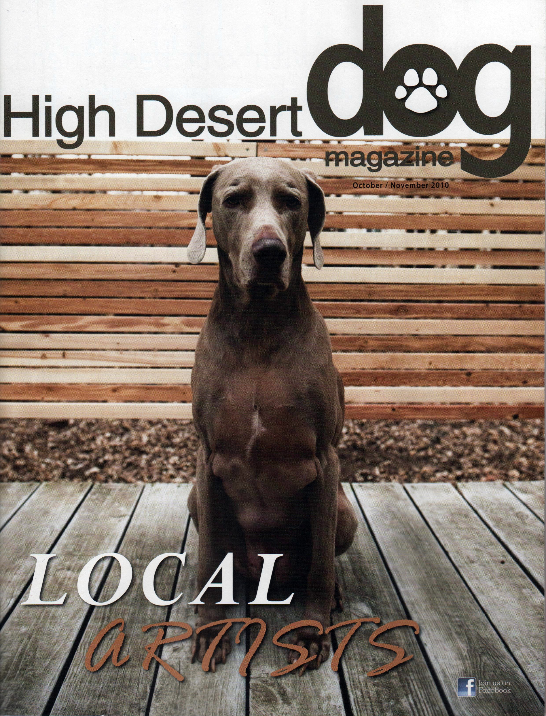 High Desert Dog - Cover Oct.Nov 2010.jpg