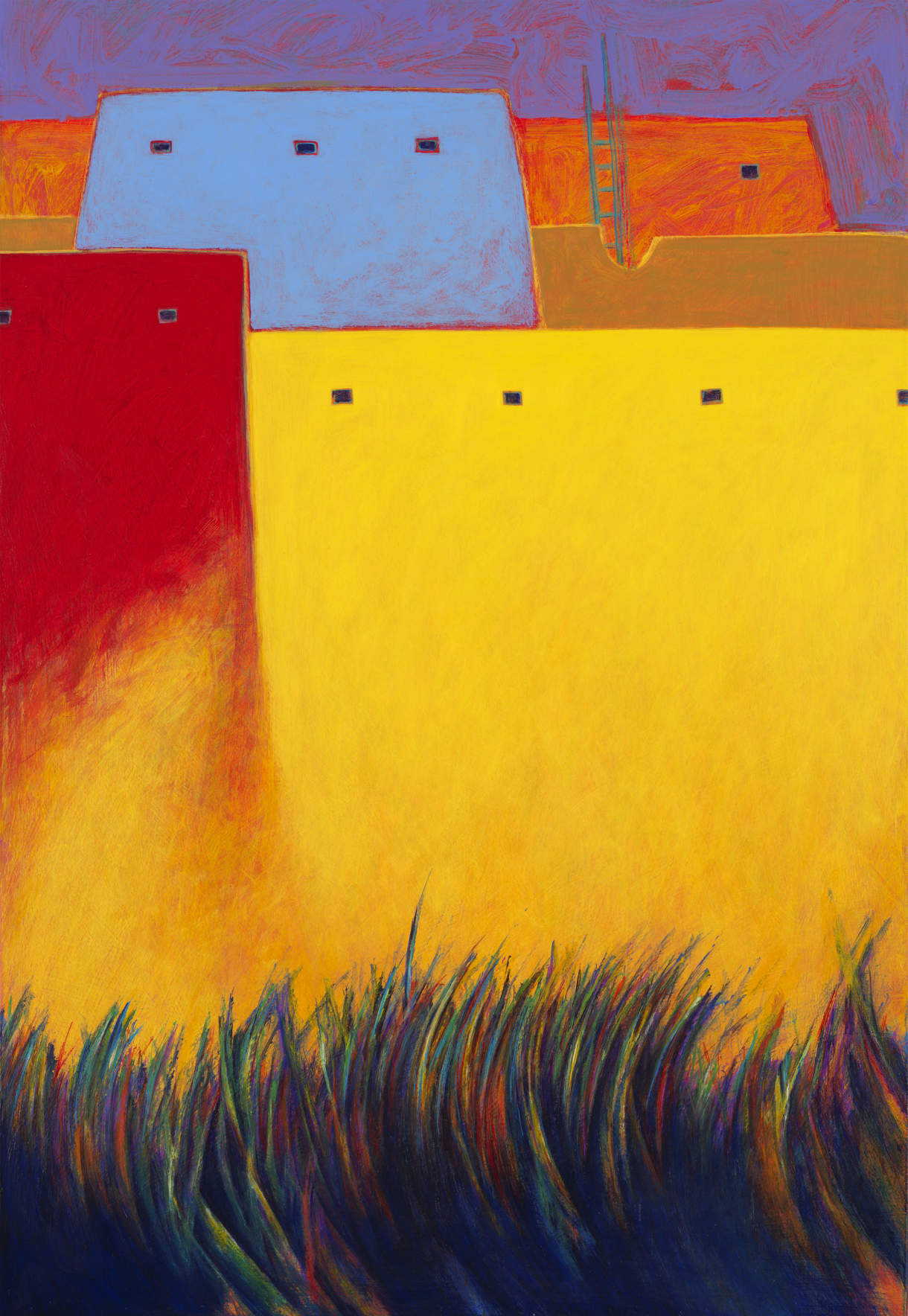 Grass Dance • Giclee on Canvas • 32 x 22