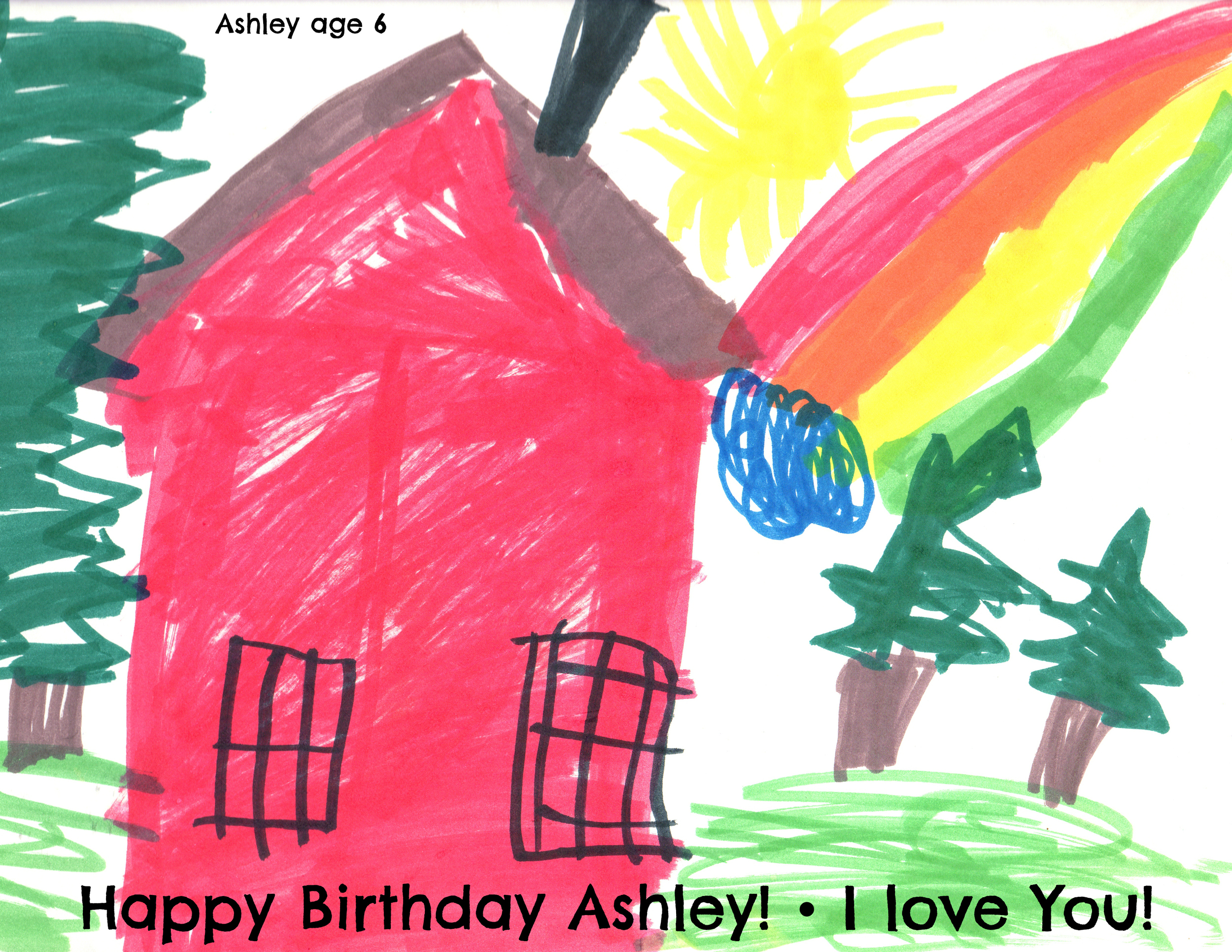 Ashley - I am so proud of the woman you are. When I think of you my eyes fill with tears of gratitude, admiration, and the best memories of my life. You celebrate life and it teaches the rest of us to remember to live each day fully also. When I think of your birthday, I think of pinatas and sombreros.My life would not have been near as rich if you had not come along. Everyone who knows you can honestly say the same. I love you Ashley. Happy Birthday.