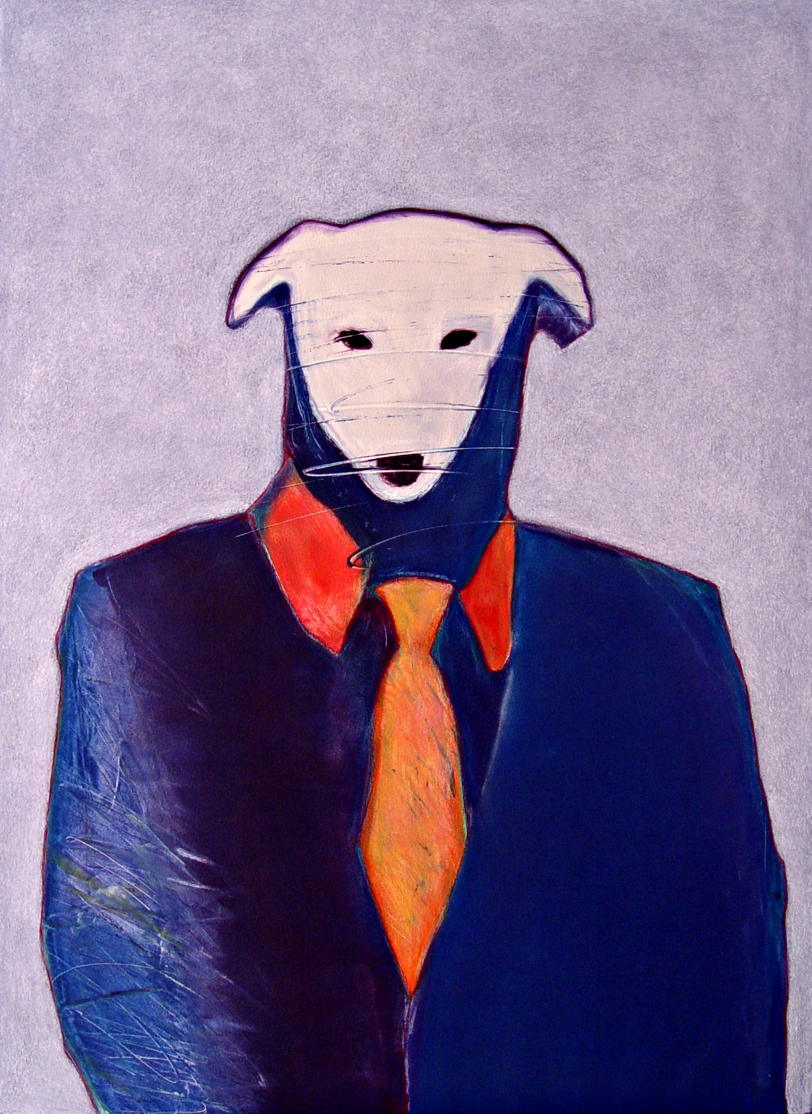 Portrait of a Banker · Monotype · 30 x 22 · Unframed Value $2,150