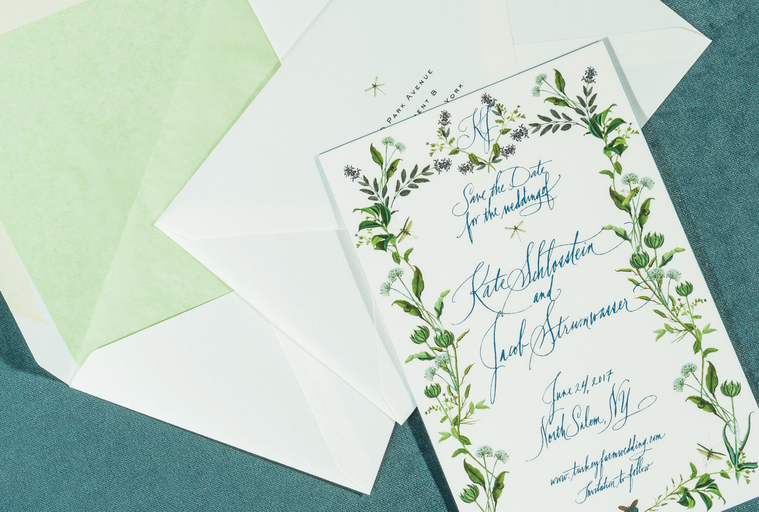 Save the DateWhen to Send: 4-6 Months Before the Wedding - Once you've selected a date and location, it is time to send out Save the Dates to your guest list. If you are hosting a destination wedding, it is important to give friends and family as much notice as possible to make travel arrangements. This piece can coordinate with your invitations, but it is not necessary.