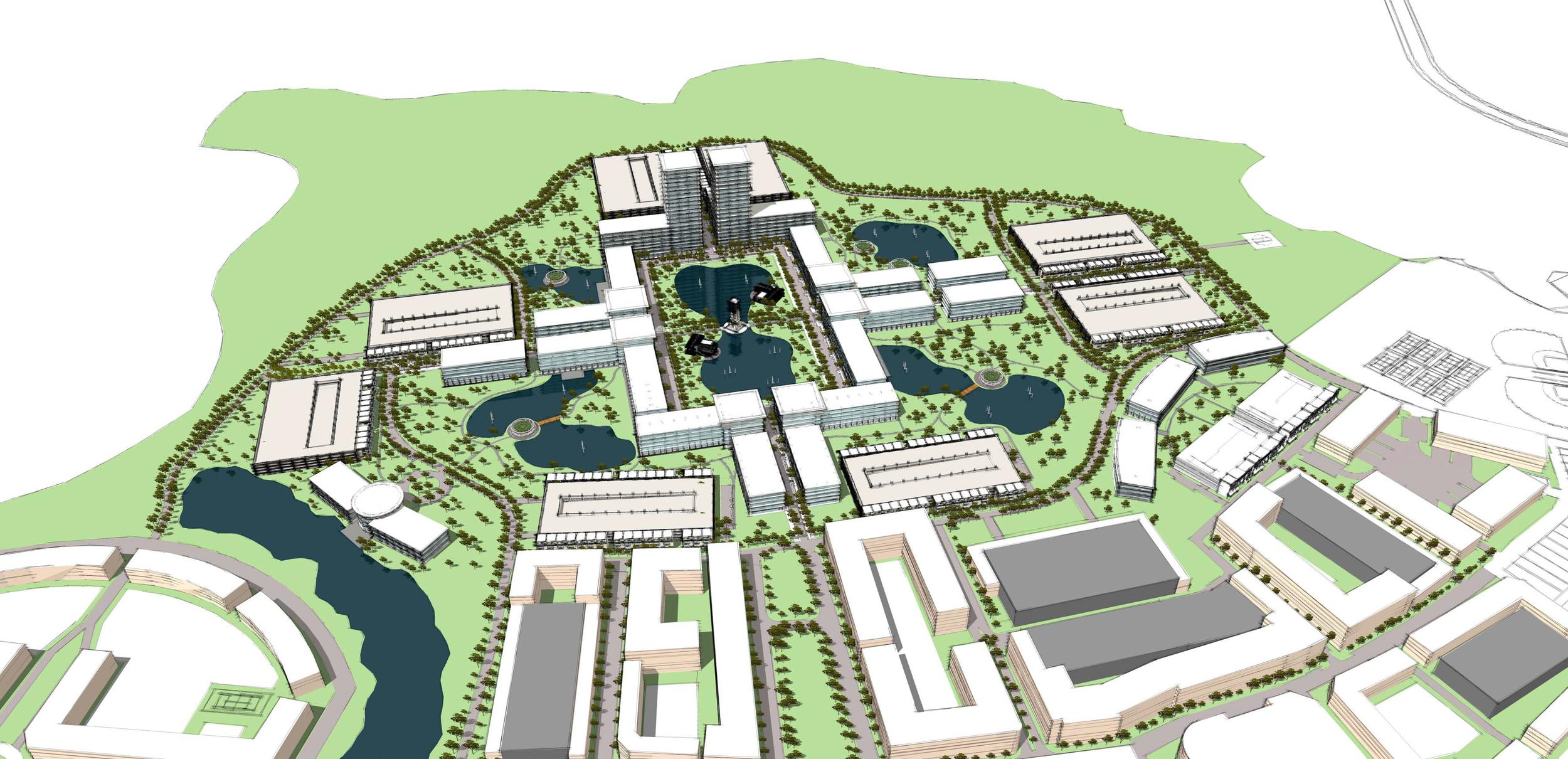 Corporate Campus Site