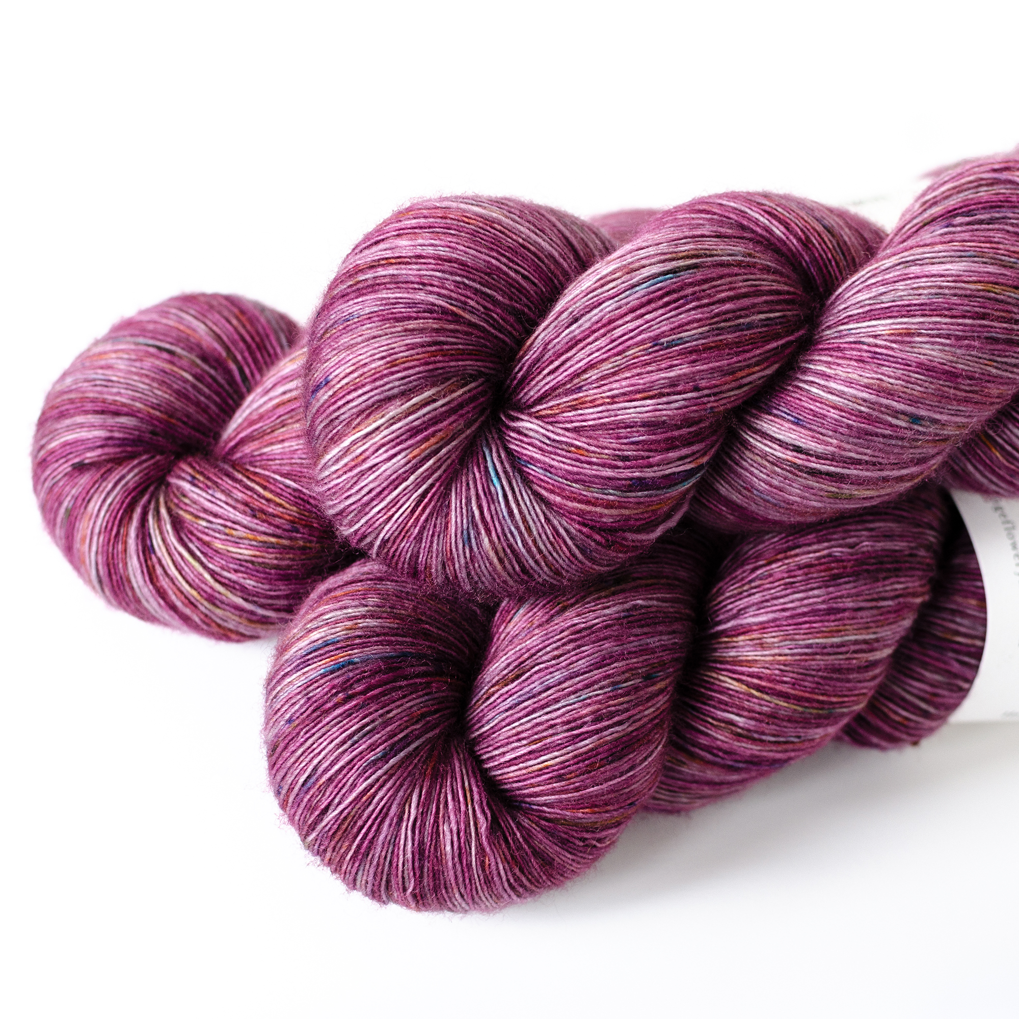 Lace - $25  100% Superwash Merino Wool  unplied  870 yards / 796 meters  100 grams  Heavy Lace Weight  US 1-5 / 2.25-3.75mm  Hand wash / Dry flat  This is an extra soft and light single ply yarn.