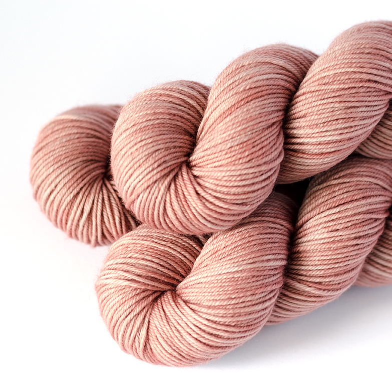 SW Merino DK - $25  100% Superwash Merino Wool  4 plies  230 yds / 210 m  100 grams  DK Weight  US 5-7 / 3.75 - 4.5 mm  Hand wash or machine wash gentle cycle / Dry flat  This base is soft and smooth. It's a plump yarn that is a bit fuller than DK 250.