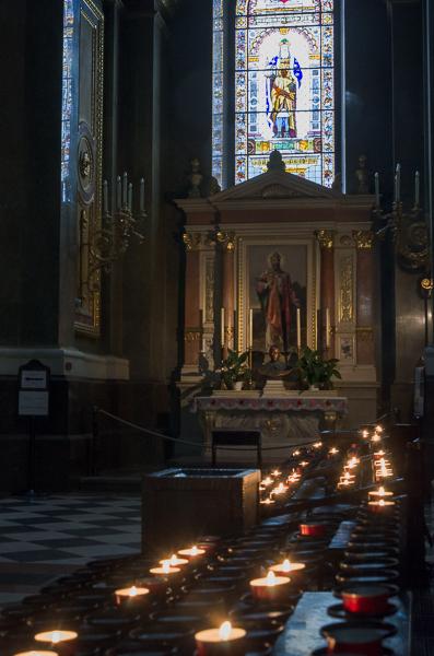 A chapel in St. Stephen's