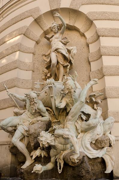 Neptune at Hofburg Palace