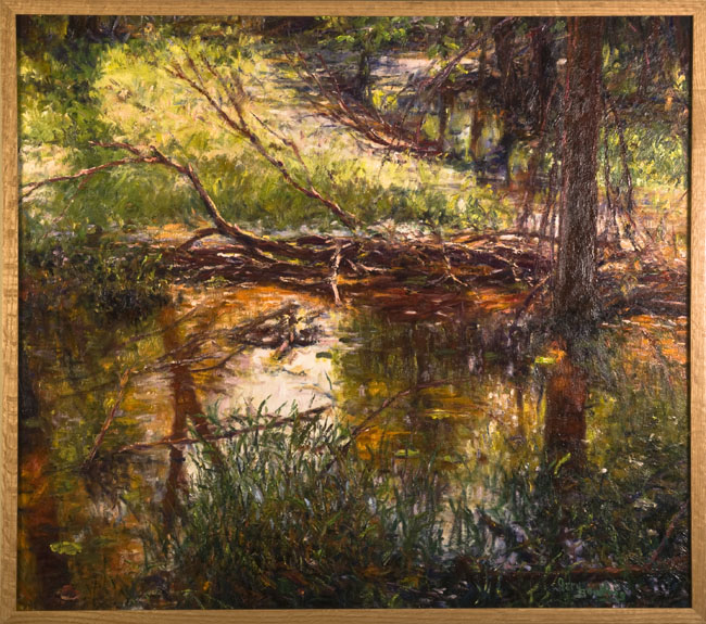 """""""Red Wooded Marsh"""""""