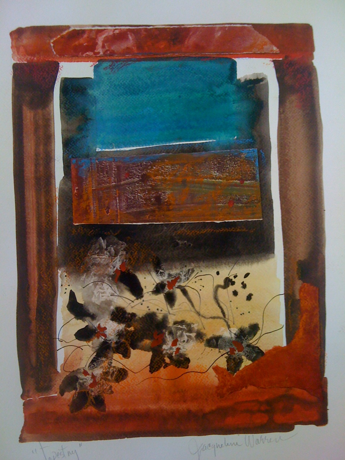 Jacqueline Warren    mixed media