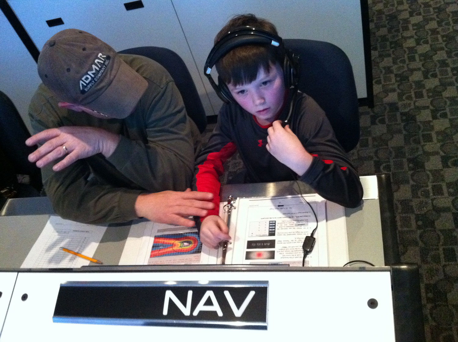 Young navigators are responsible for guiding our spacecraft on its journey.