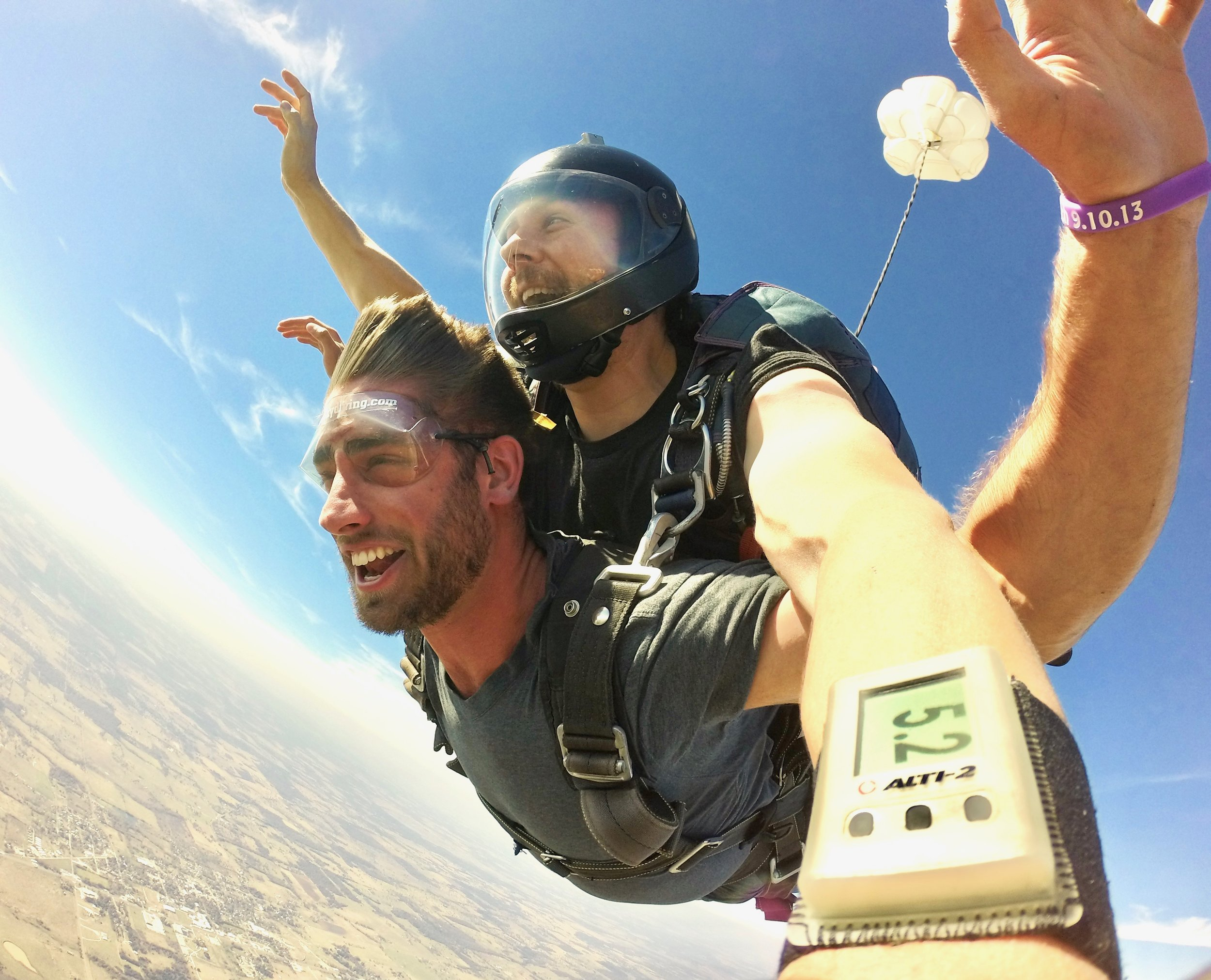 Houston, Austin, San Antonio and College Station skydive at Texas Skydiving!