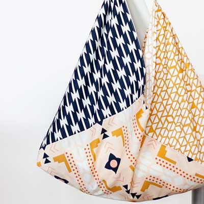 Origami Bento Bag Sewing Tutorial