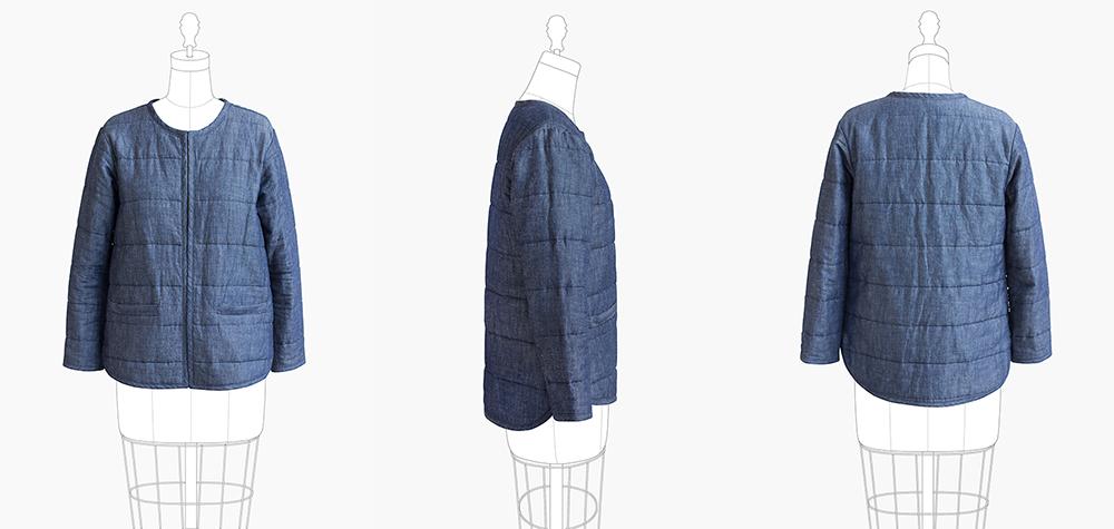 Tamarak Jacket by Grainline Studio