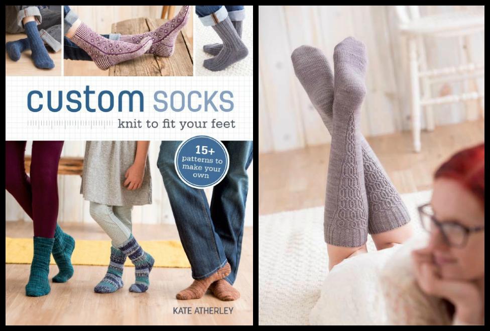 Custom Socks by Kate Atherley