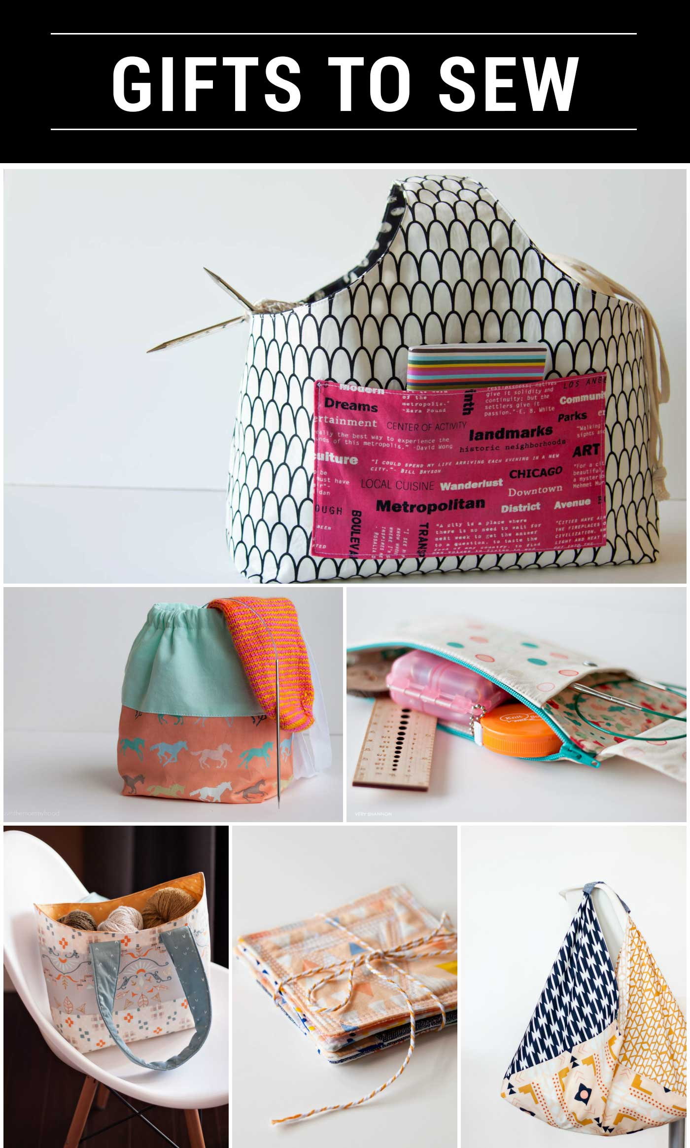Favorite Gifts to Sew & Knit on Very Shannon