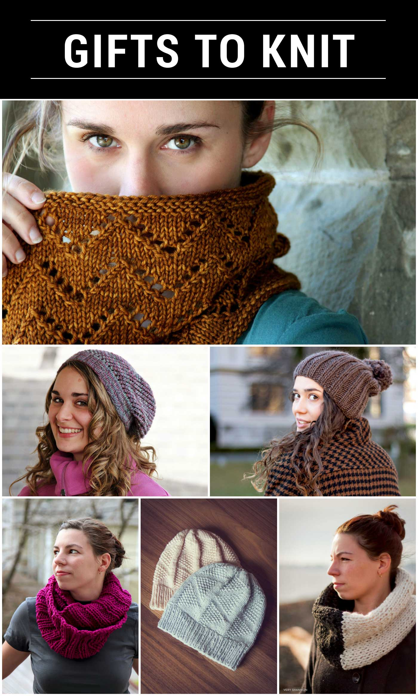 Favorite Gifts to Knit & Sew on VeryShannon