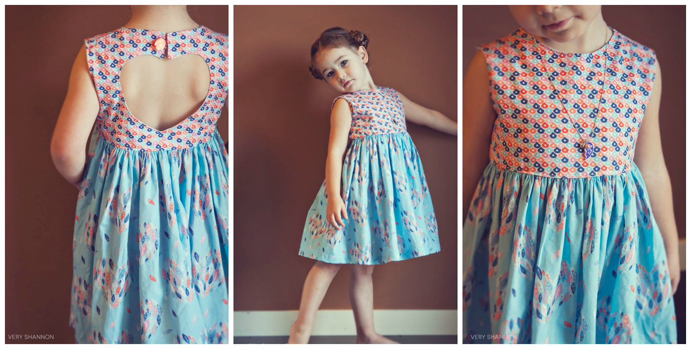 Sweetheart Dress Sewing Pattern by VeryShannon.com