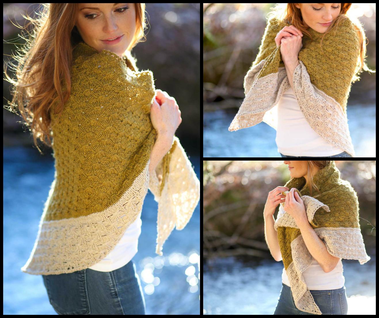Amberle Knitting Pattern by Shannon Cook on VeryShannon.com #amberleshawl