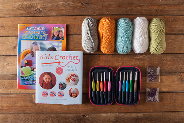Kids Crochet Kit   from Knit Picks