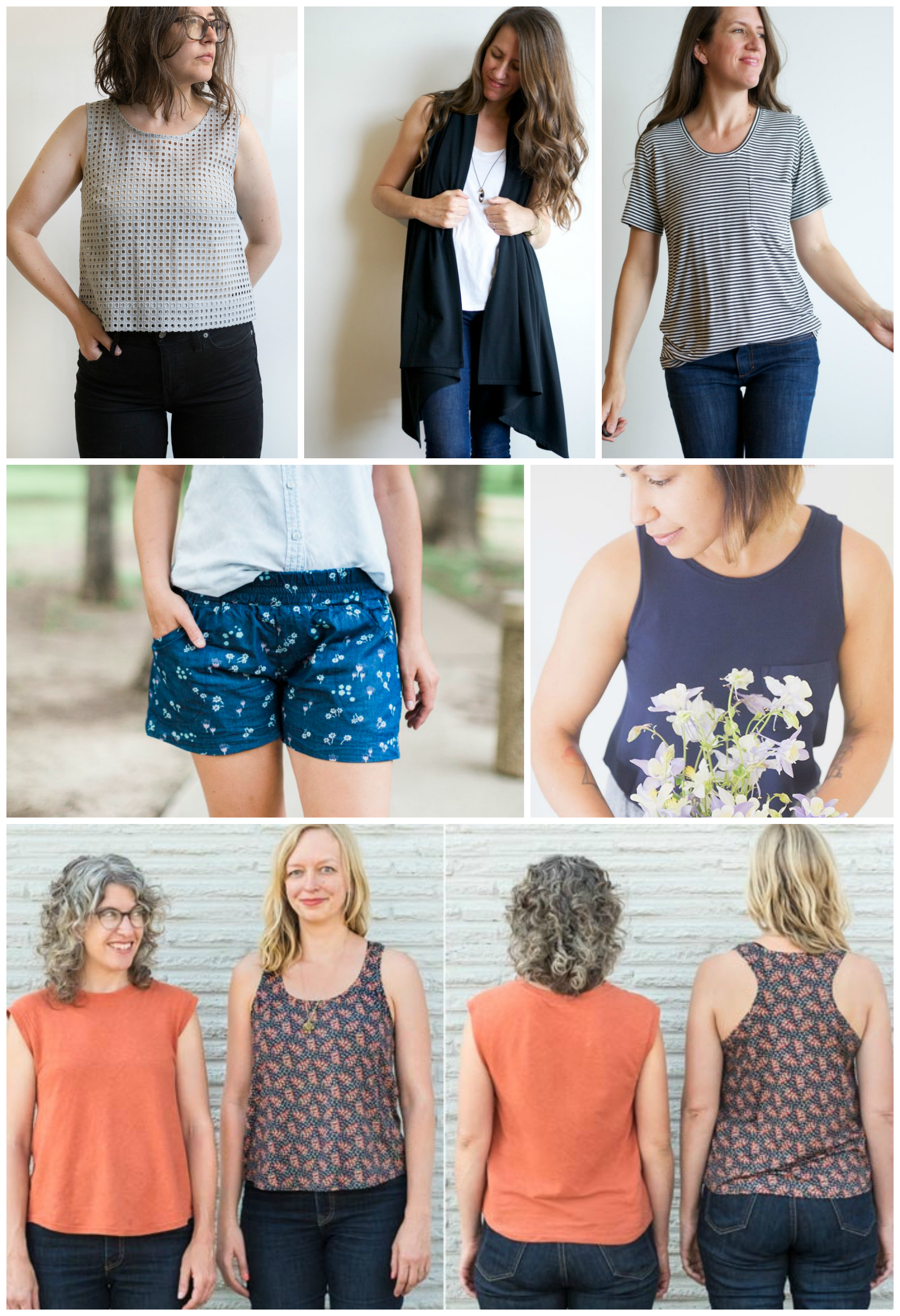 summer sewing patterns on VeryShannon.com