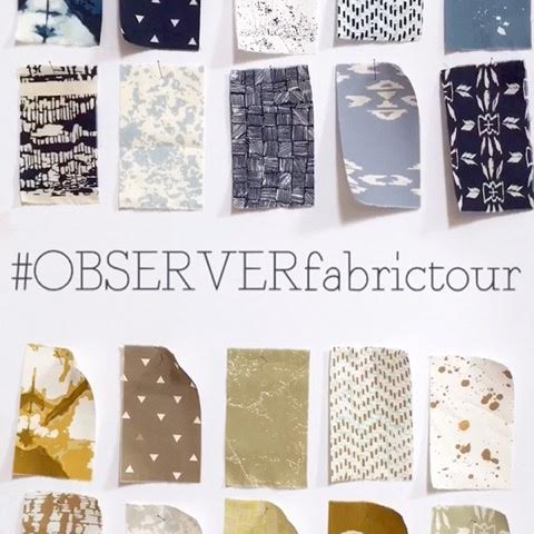 Observer Fabric Tour #observerfabrictour