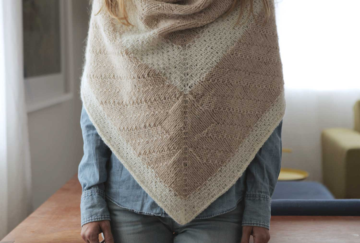 COMPASS Shawl by Shannon Cook #compassshawl #hinterlandstraits