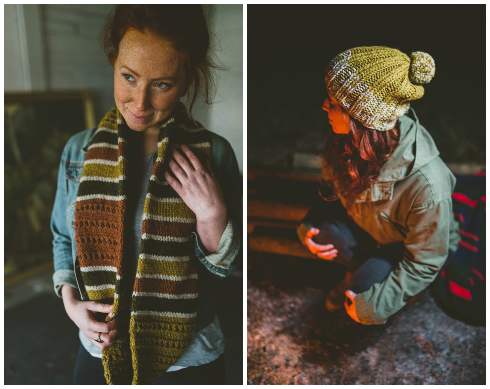 Shoreline Cowl and Lodge Hat #shorelinecowl #lodgehat #withinknits