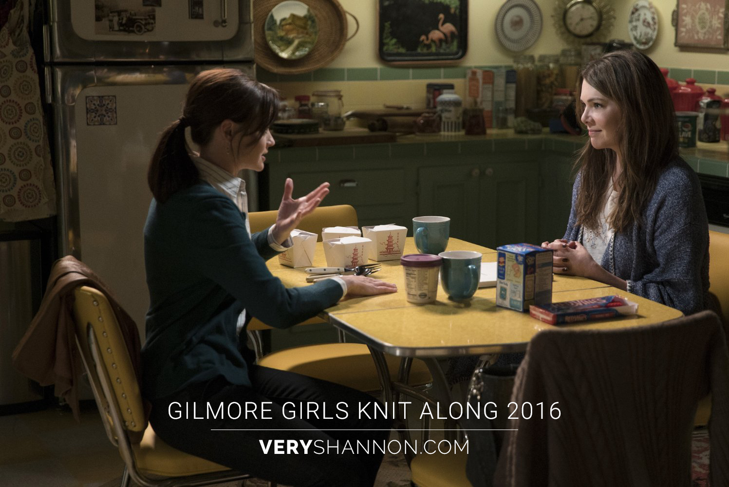Gilmore Girls Knit along 2016