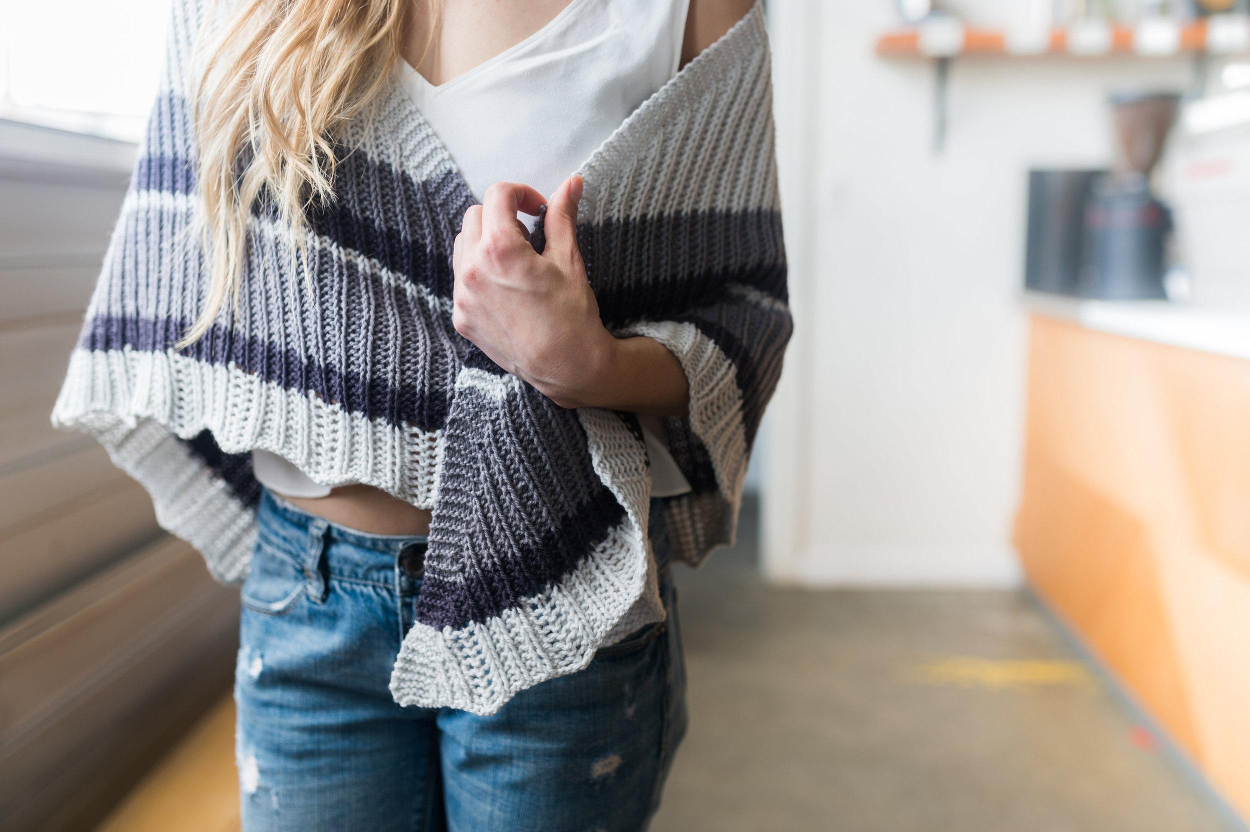 ATMEN Shawl Knitting Pattern by Shannon Cook of VeryShannon.com #atmenshawl