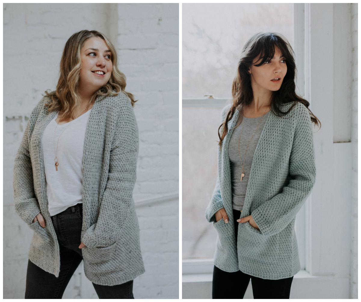 Kapsel Cardigan by Shannon Cook