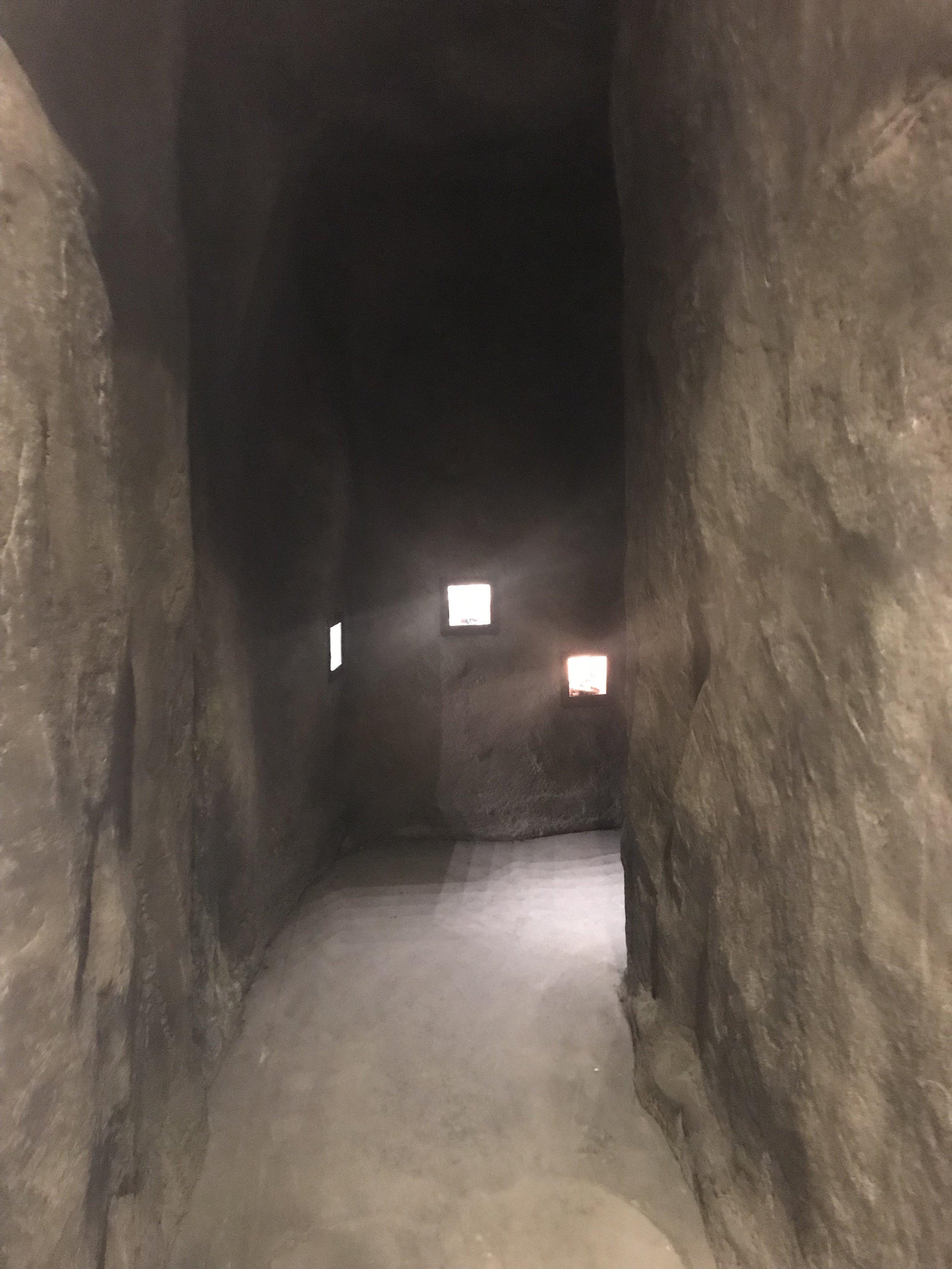 a walk through the cave