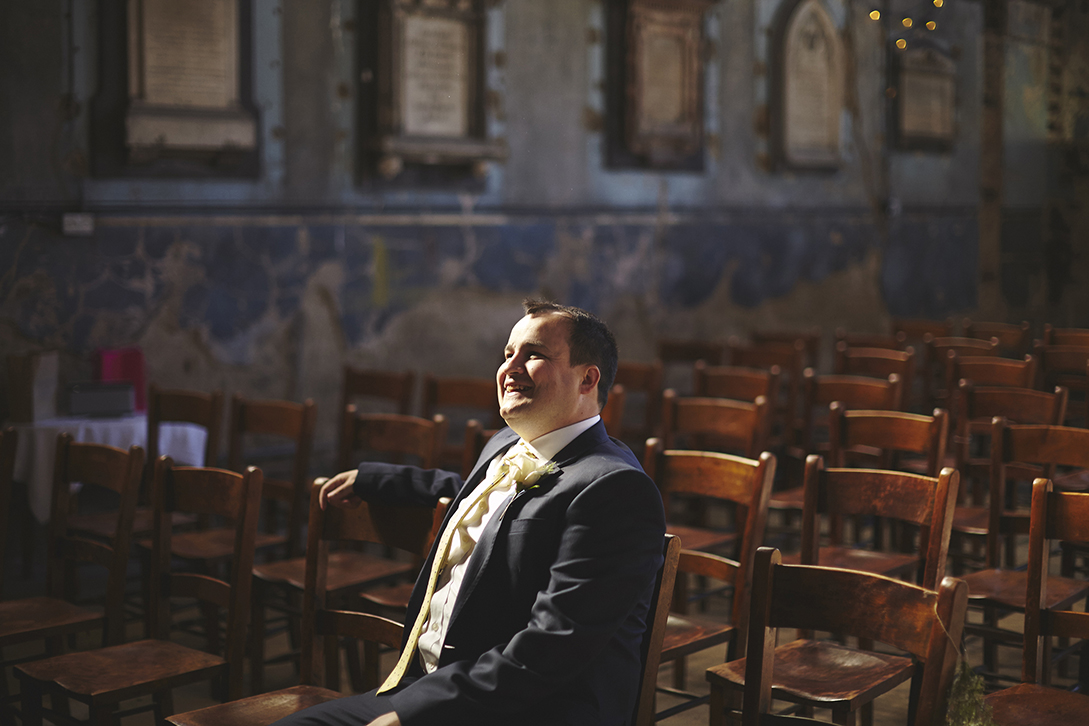 Asylum Chapel Peckham Wedding Photography | Sara Lynd Weddings | Alternative, Documentary, Creative Wedding Photographer based in London