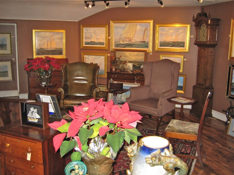 Gallery at Merchants Square with artist William R. Beebe