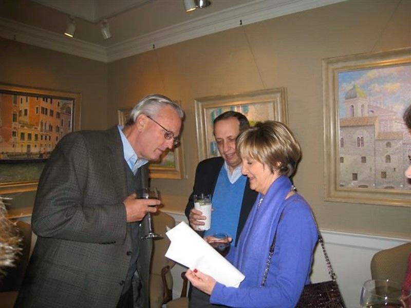 Williamsburg Artist Reception with artist William R. Beebe