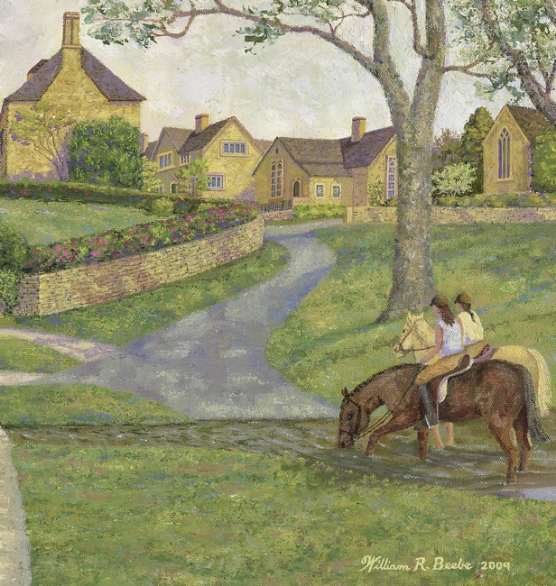 Cotswolds by Horseback   by William R. Beebe