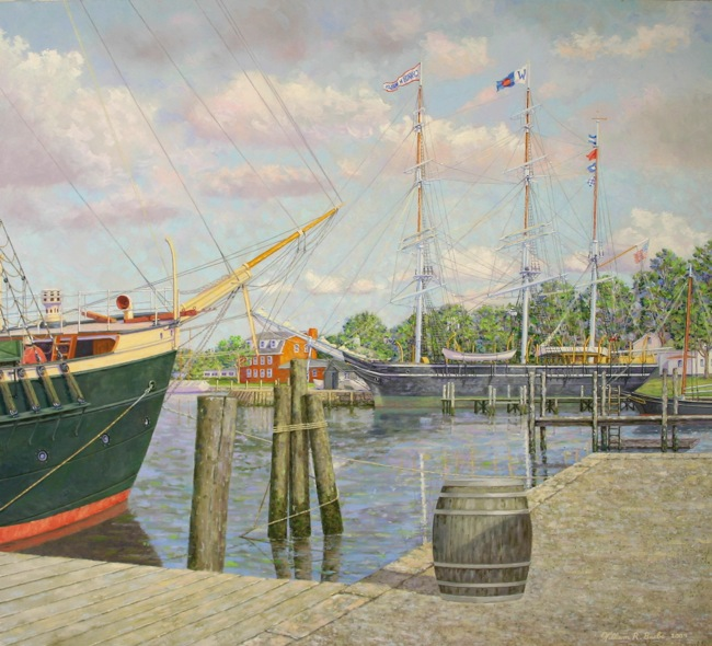 Mystic Flagships   by William R. Beebe