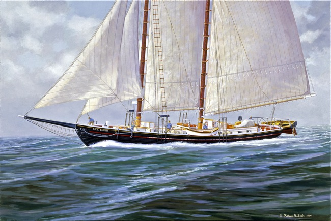 Storm Approaching   by William R. Beebe, NFS