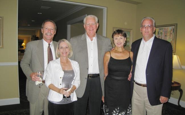 Bill, Jen and good friends!