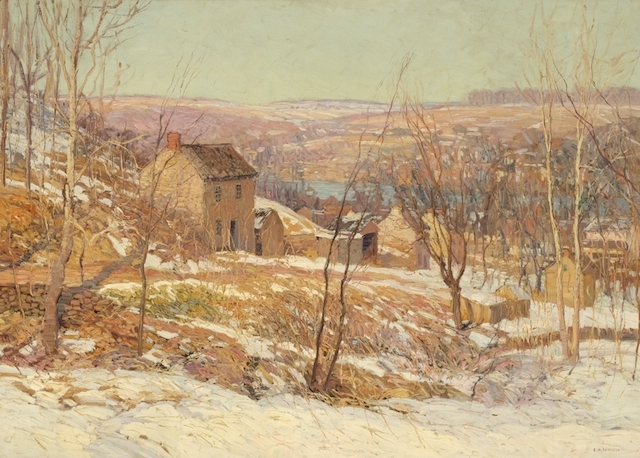 Winter in the Valley by Edward Redfield