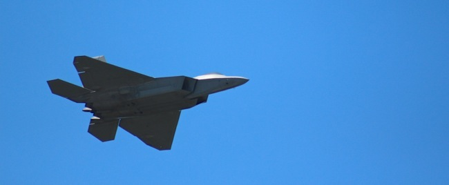 F-22 Fly over