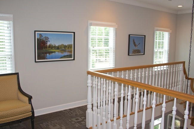 TRCC Lobby with William R. Beebe photographs