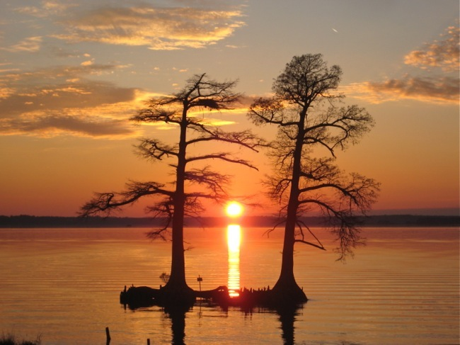 A Two Rivers Sunset, photo by William R. Beebe