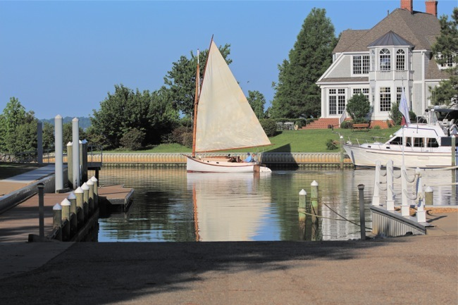 The Governor's Land Marina, photo by William R. Beebe