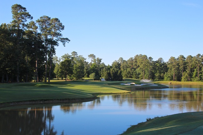TRCC 4th hole, photo by William R. Beebe