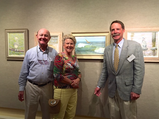 William R. Beebe and some happy new collectors!