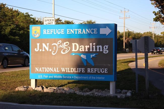 J.N. Ding Darling National Wildlife Refuge Entrance