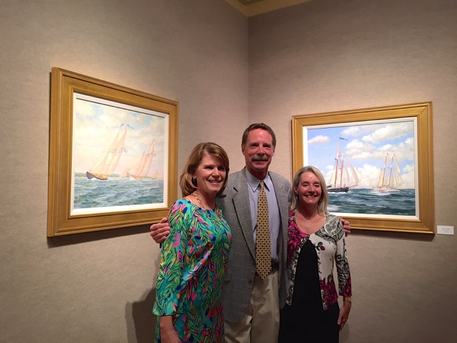 Ocean Reef Art League Event with artist William R. Beebe